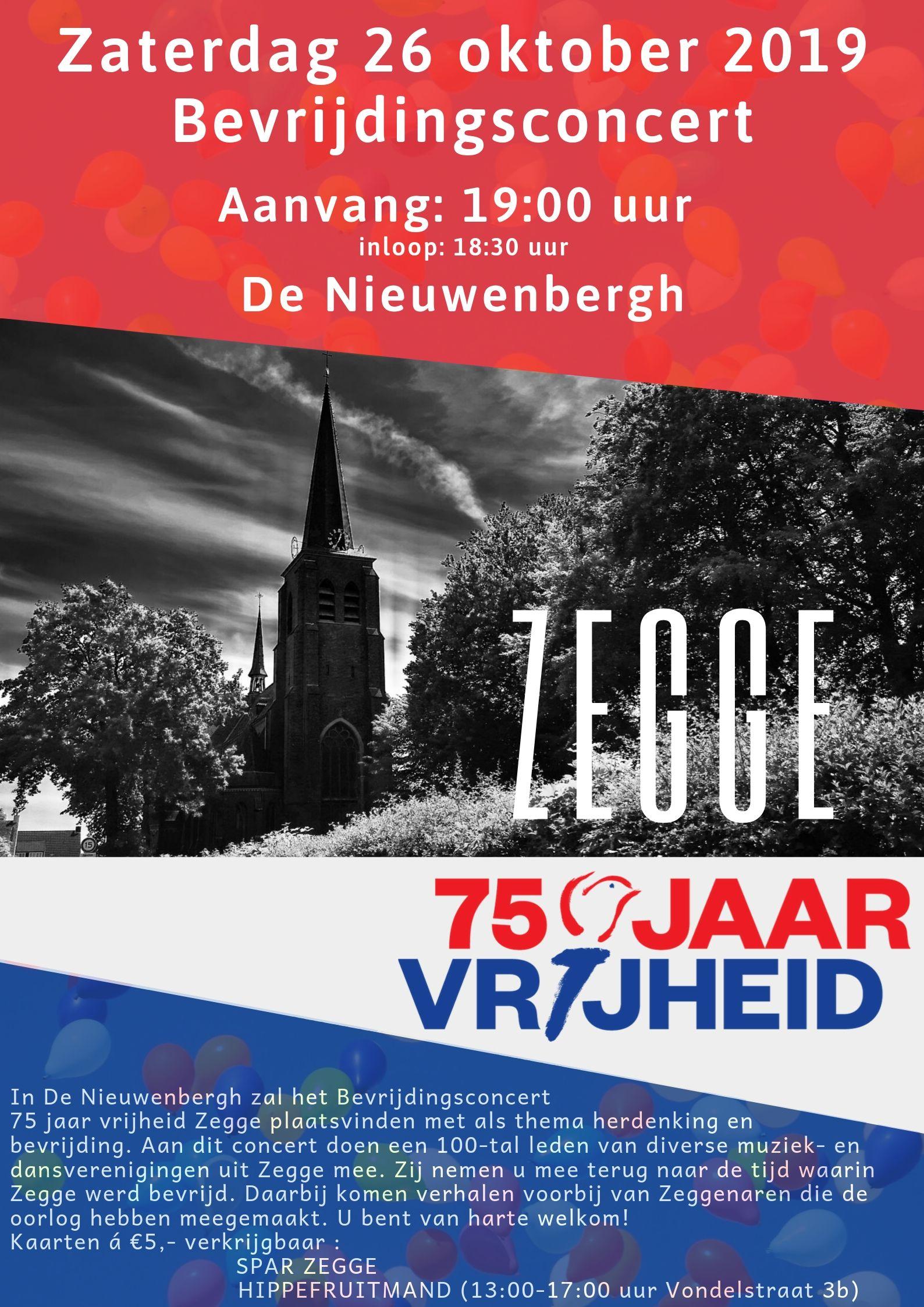 Bevrijdingsconcert 75 jaar vrijheid